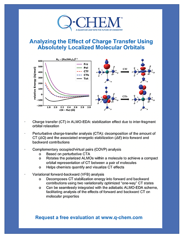Analyzing the Effect of Charge Transfer Using Absolutely Localized Molecular Orbitals whitepaper
